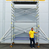 Alufase 14 ft Double Wide Tower
