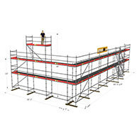 Layher Allround Big Scaffolding Package