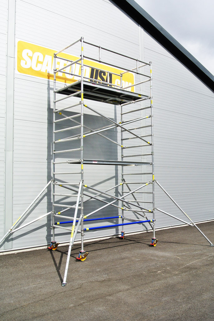 Aluminum Scaffolding Systems : Instant upright aluminum scaffold systems for sale
